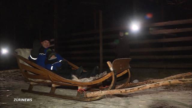 Besuch beim Samichlaus in Lappland
