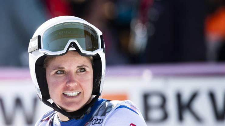 Joana Hählen hielt sich im ersten Training zur Weltcup-Abfahrt in Val d'Isère als einzige Schweizerin in den Top 10