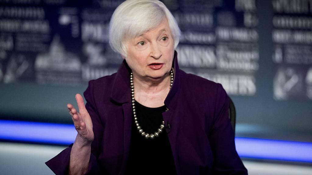 Die ehemalige Fed-Notenbankchefin Janet Yellen ist neue US-Finanzministerin. Der Senat bestätigte die Ökonomin am Montag. (Archivbild)