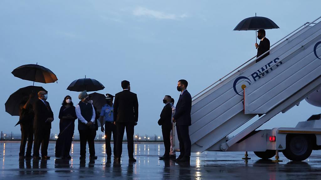 US-Aussenminister Blinken zu Besuch in Indien gelandet