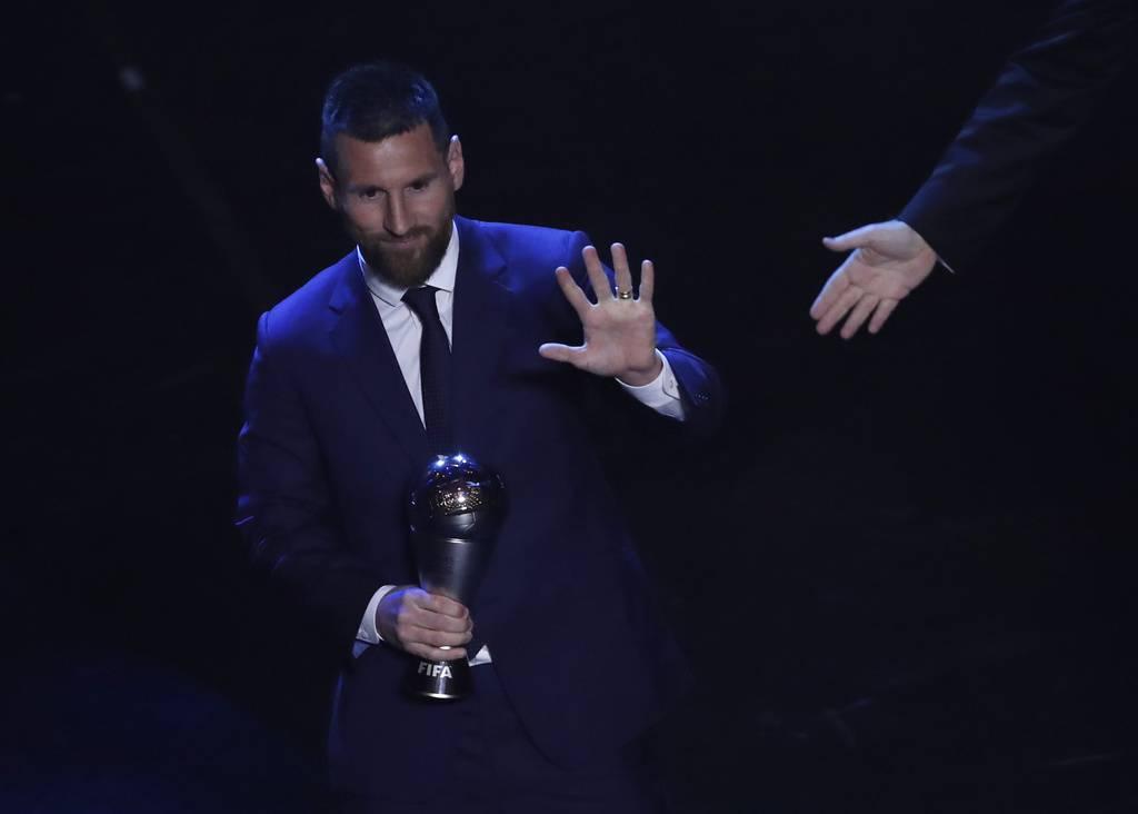 Lionel Messi ist Weltfussballer 2019. (© Keystone)