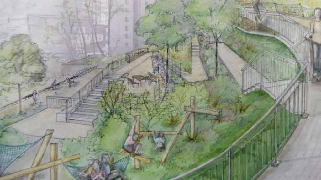 1,6 Millionen Franken für neuen Quartierpark Fluhmühle in Luzern