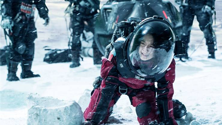 Die Erde als Eiswüste: Mit «The Wandering Earth» wagt sich China an opulente Science-Fiction.