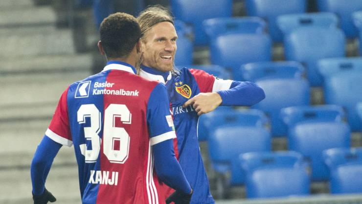 Trifft erneut für Basel: Michael Lang (rechts)