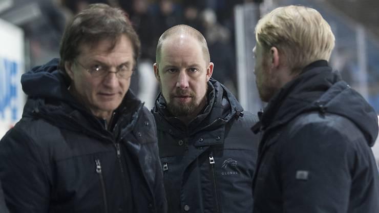 Dem Trainertrio der ZSC Lions mit Arno del Curto, Mathias Seger und Michael Liniger steht viel Arbeit bevor.