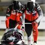 Starkes WM-Debüt: Simon Friedli/Gregory Jones fuhren in Altenberg auf den 2. Platz