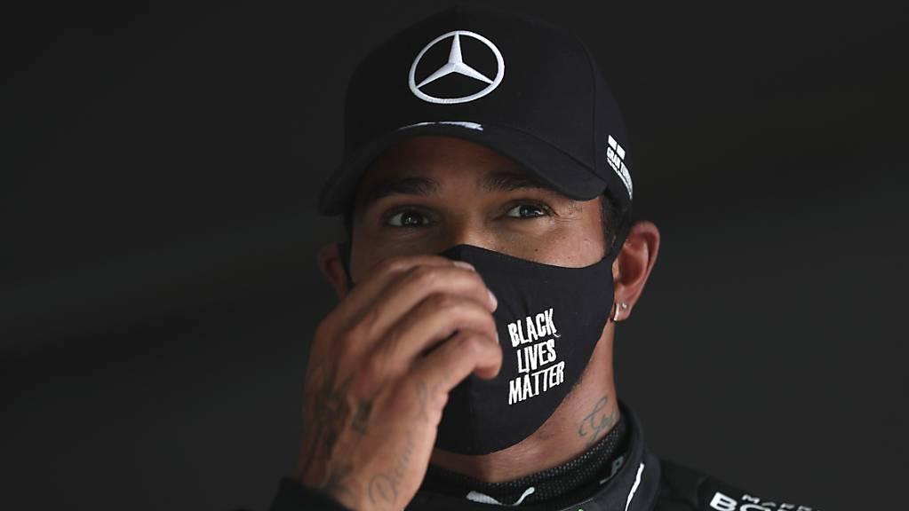 Lewis Hamilton ist mit 92 Grand-Prix-Siegen nun alleiniger Rekordhalter.