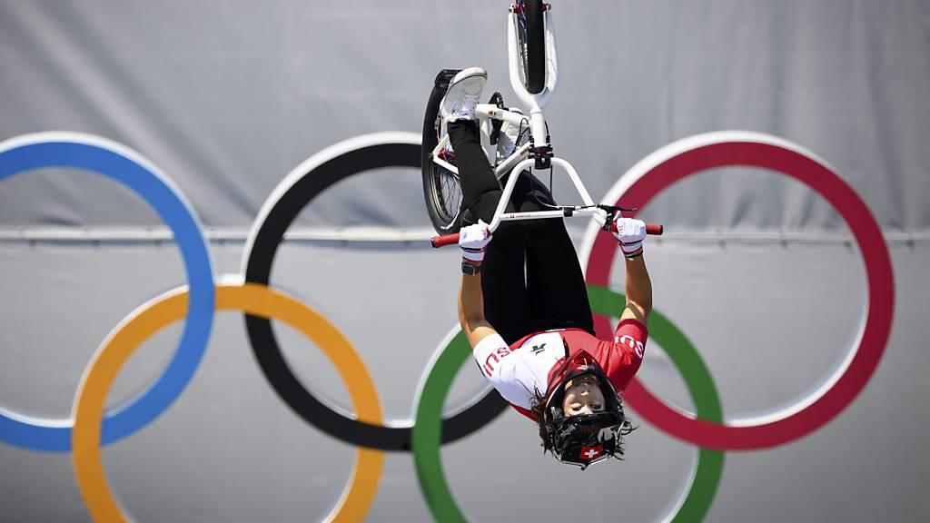 Kopfüber zur Olympia-Medaille: Nikita Ducarroz gewinnt Bronze im BMX Freestyle