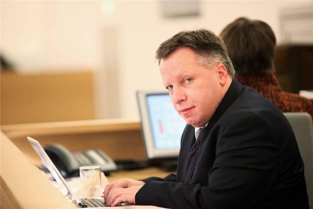 Hochulis Kommunikationschef Balz Bruder nimmt für längere Zeit Urlaub