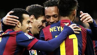 Klarer Heimsieg für das Starensemble des FC Barcelona