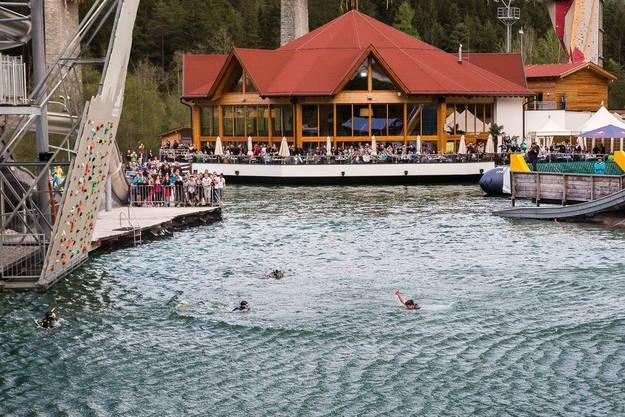 Splashdiving-Treffen in Tirol
