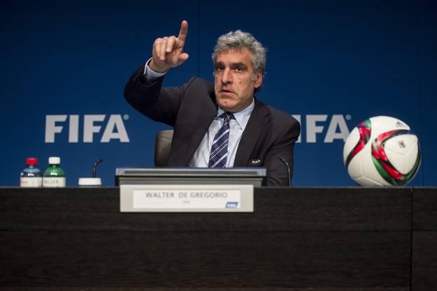 Fifa-Sprecher Walter De Gregorio nimmt Stellung zu den neusten Vorkommnissen