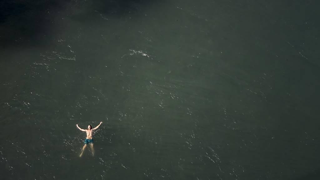 Wenn das Zittern gestoppt wird, geht die Schwimmfähigkeit vergessen