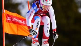 Michelle Gisin bestätigte ihre Leistung vom Freitag und fuhr in Lake Louise erneut auf das Podest