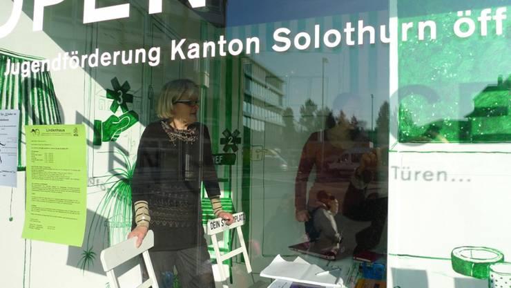 Regula Lüthi und Mila Witschi vom Lindenhaus Grenchen