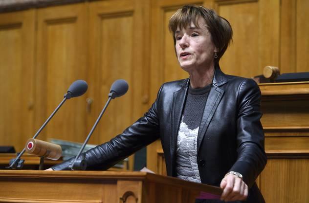 Die Aargauer Gesundheitspolitikerin Ruth Humbel.