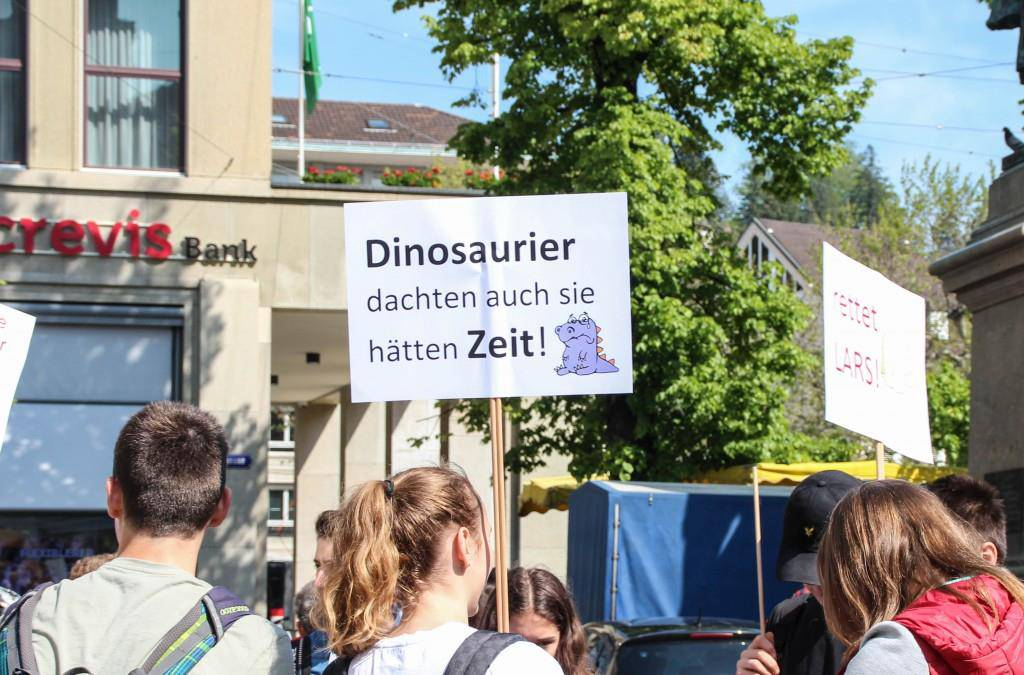 Klimademonstration 24.Mai 2019 (© FM1Today/Stefanie Rohner)