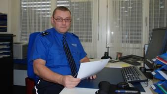 Wie der künftige Kostenteiler für die Regionalpolizei Wohlen mit Kommandant Marco Veil aussehen soll, ist umstritten.