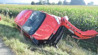Verkehrunfall auf der A1 zwischen Niederbipp und Oensingen