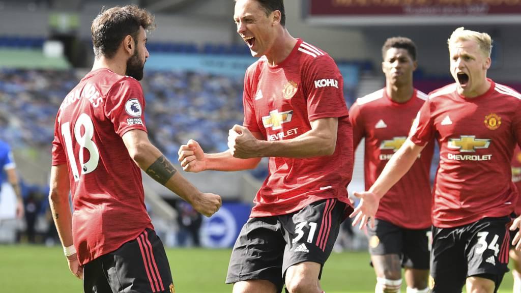 Später Penalty bringt Manchester United den ersten Saisonsieg