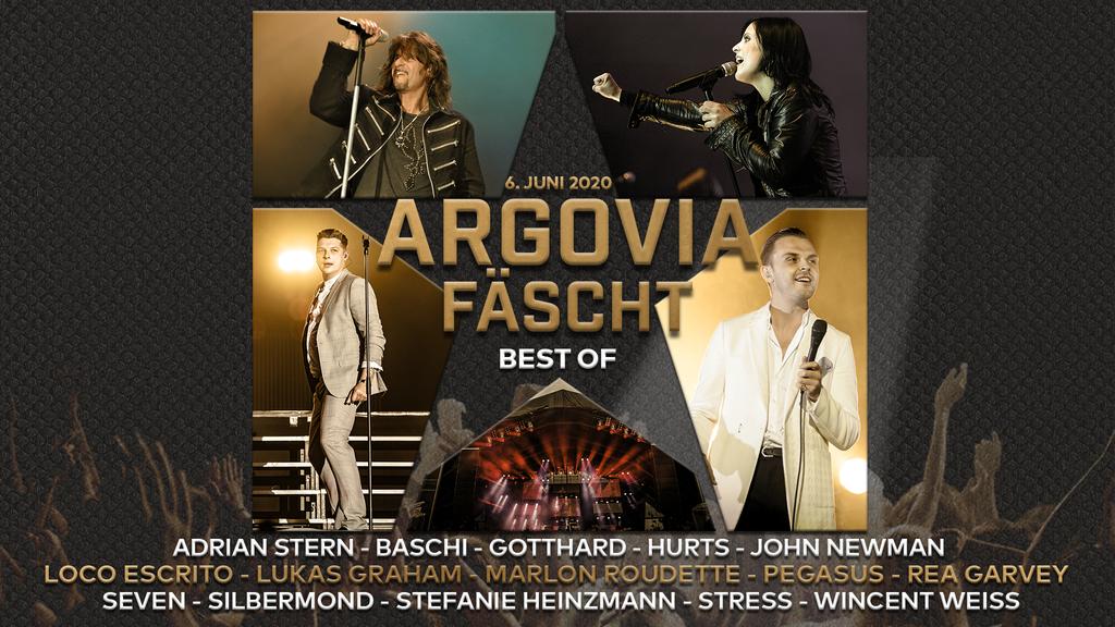 Argovia Fäscht Best of - Hör dir die schönsten Konzert-Highlights an