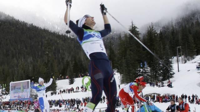 Der Olympiasieger Jason Lamy-Chappuis gewann auch zum Weltcup-Auftakt