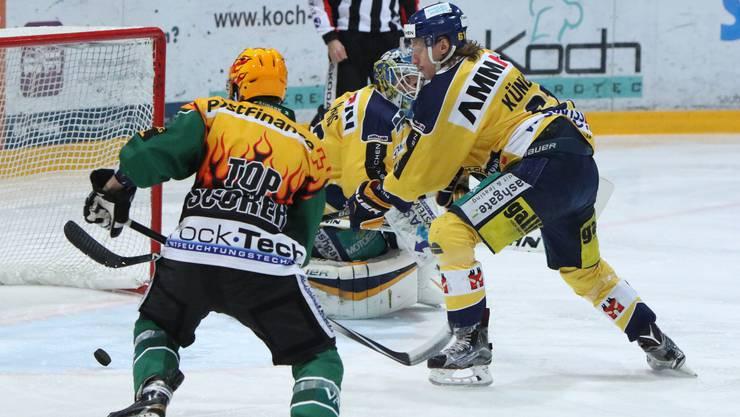 Marco Truttmann hatte mehrere gute Chancen und er schoss den Siegtreffer.