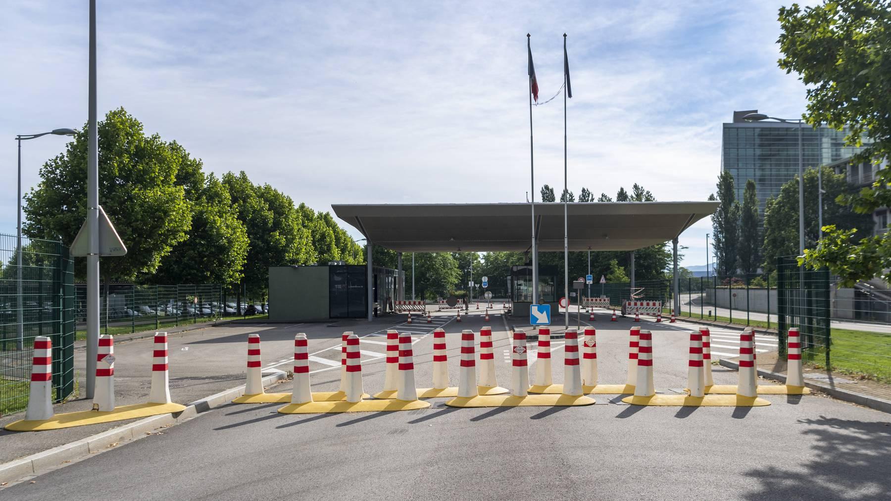 Die Grenze zu Frankreich verläuft in Genf und Basel oft mitten im Stadtgebiet.