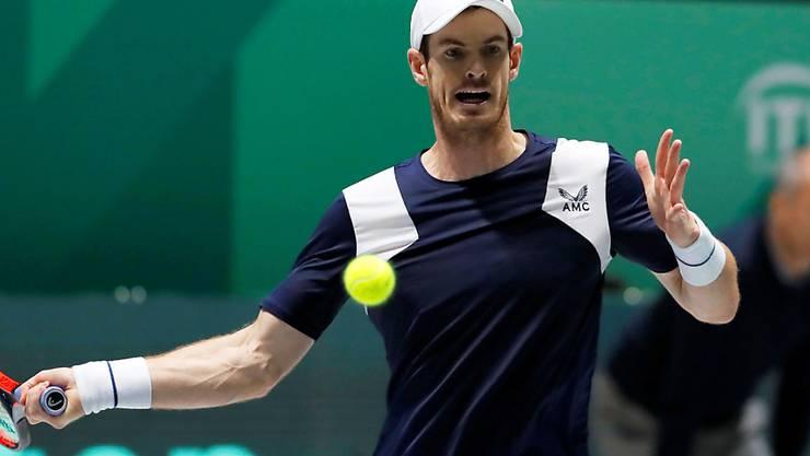 Andy Murray wird von einer Beckenverletzung gestoppt