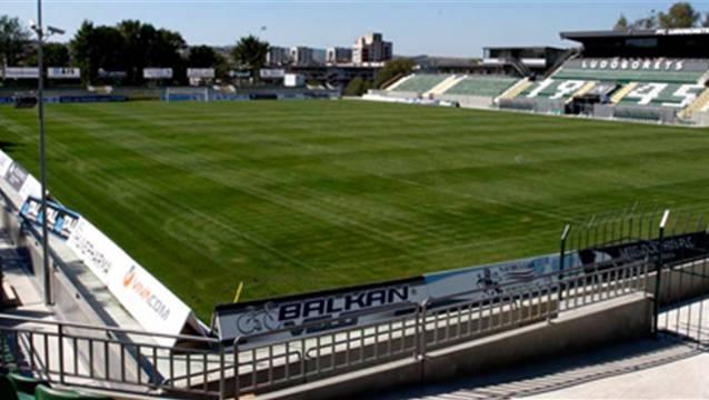 Das Stadion von Ludogorez Rasgrad