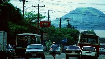 «Ein vulkanisches Land, wo nichts geregelt ist.» Managua – wohin 1980 der Vater ausgewandert war. mad.