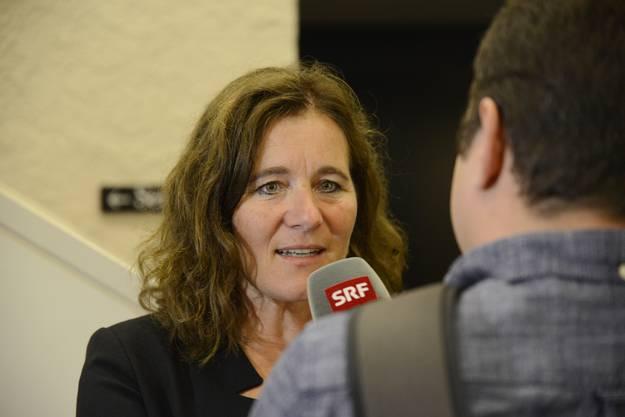 Franziska Roth im Interview mit dem Regionaljournal Aargau/Solothurn