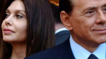 Berlusconi und Veronica Lario, als es noch klappte (Key)