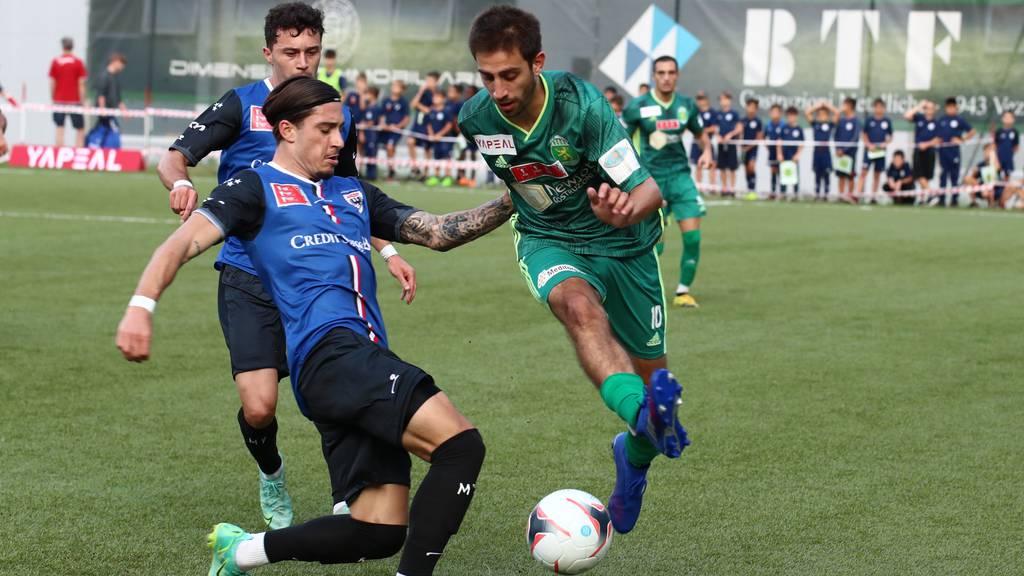 Kevin Spadanuda schiesst den FC Aarau ins Achtelfinal
