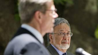 Westerwelle mit seinem afghanischen Amtskollegen Rassoul