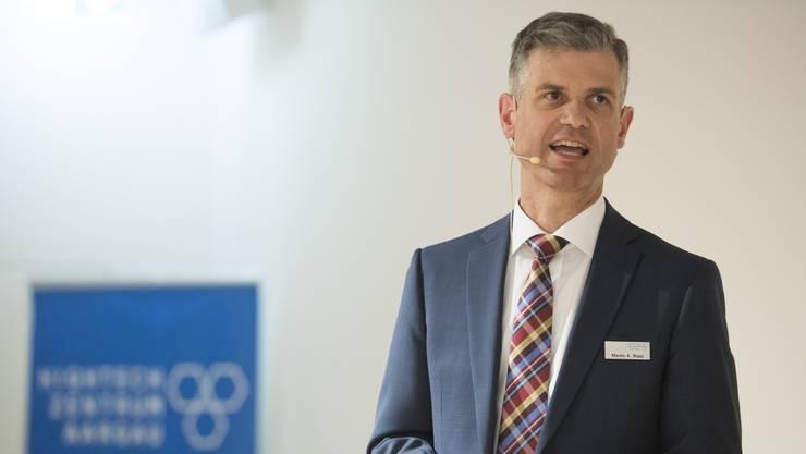 Martin A. Bopp ist Geschäftsführer der Hightech Zentrum Aargau AG.