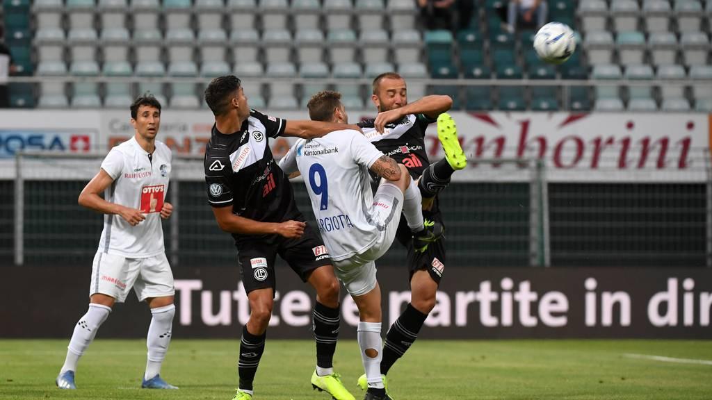 FC Luzern verliert gegen Lugano 0:2