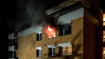 Gestern Abend brannte es in einer Wohnung in Meilen.
