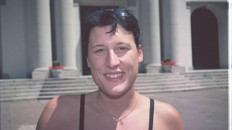 Madeleine Perk, früher Synchronschwimmerin und als solche auch Olympiateilnehmerin arbeitete auch beimCirque du Soleil in Las Vegas. Zusammen mit Kay-Yasmin Schmid gibt sie am Samstag eine Warmup-Powerstunde.
