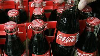 Coca-Cola ist gut im Geschäft (Archiv)