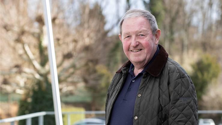 Hans Bratschi (73) aus Oberrohrdorf engagiert sich bei Innovage.