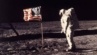Die Mondlandung: Sinnlos oder Triumph der Technik?Nasa/AP/Keystone