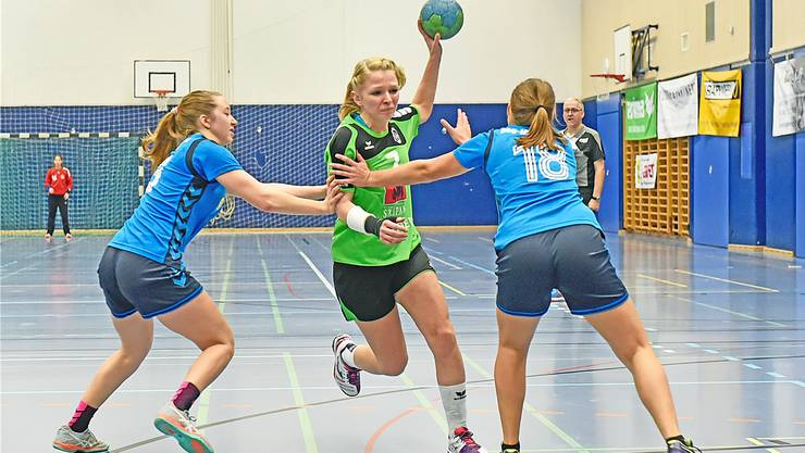 Die Trimbacherin Jana Wyss kehrte 2012 vom TV Zofingen zu ihrem Stammklub HV Olten zurück und absolviert heuer ihre siebte Saison im Fanionteam. RFO/Archiv