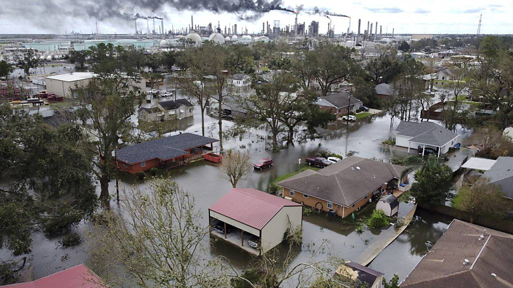 Hunderte Menschen nach Hurrikan «Ida» aus Flutgebieten gerettet