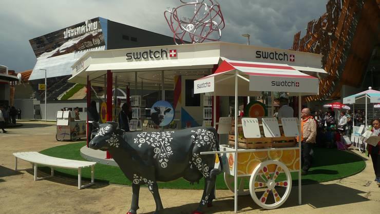 Die Marke Swatch ist offizieller Zeitnehmer der Weltausstellung in Mailand