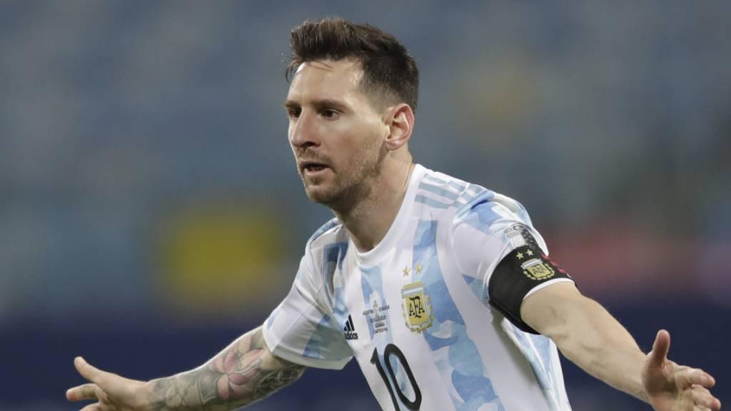 Messi führt Argentinien in den Halbfinal