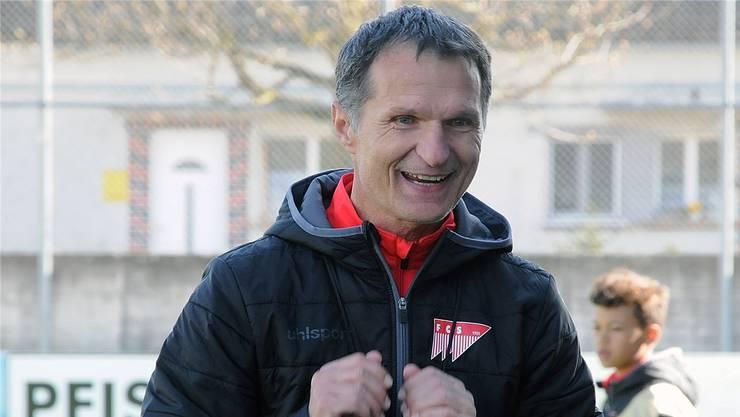 Ist trotz der Niederlage zufrieden mit seiner Mannschaft: FC-Solothurn-Trainer Dariusz Skrzypczak.