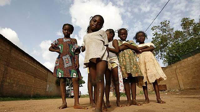 Kinder in Burkina Faso (Archiv)