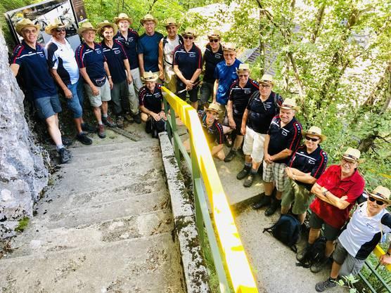 letzte Kurve zum Mte San Salvatore