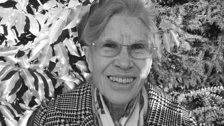 Claudia Faber war nicht bekannt für lange Reden, vielmehr schätzte sie die Arbeit in Ruhe.